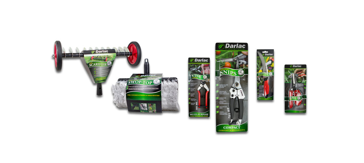 Darlac, the cutting tools experts, have announced record sales in June following the 3 months of garden centre lockdown.